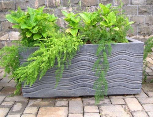 Fiber Stone Pot