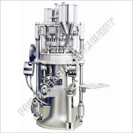 Double Sided Rotary Tablet Press Precise Perfect Finish Standard Model