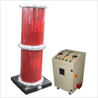 AC High Voltage Test  Cascaded Transformer Type