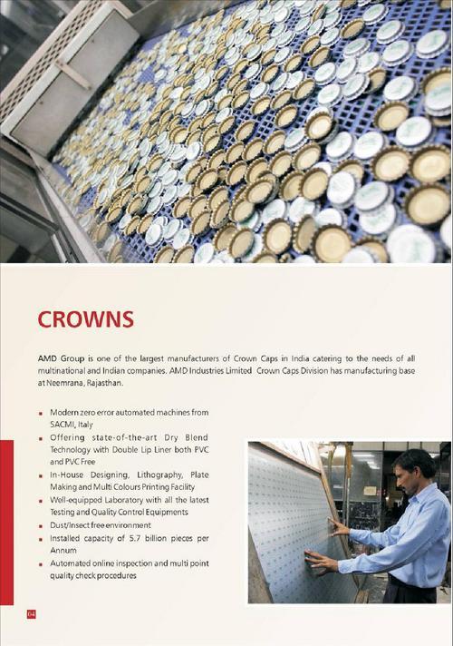Crown Caps