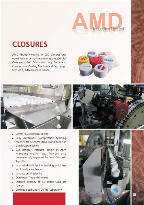 Plastic CSD Closures