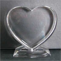 Heart Shaped Crystal Gift