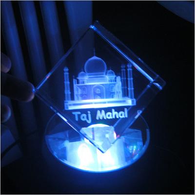 Crystal Taj Mahal
