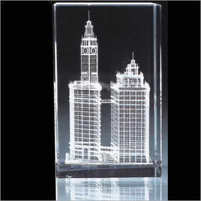 Crystal Inner Laser Engraving Items