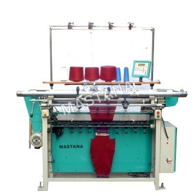 Semi Comp Narrow Shaping Flat Knitting Machine