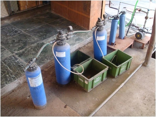 Demineralisation Plant Resin