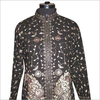 Silk Zari Work Jacket