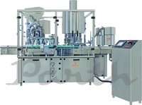 Automatic Rotary Dry Syrup Filling Sealing Machine