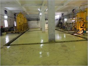 DM Plant Acid Resistance Floor