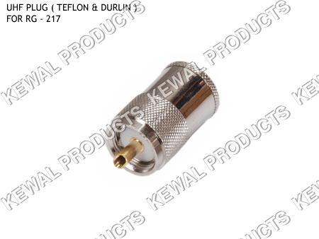 UHF PLUG FOR RG - 217 Cable