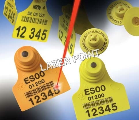 Veterinary Tag Laser Marking