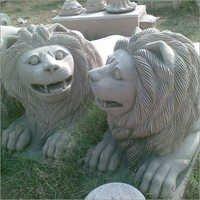 Sand Stone Lions