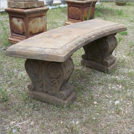 Garden Stone Benches