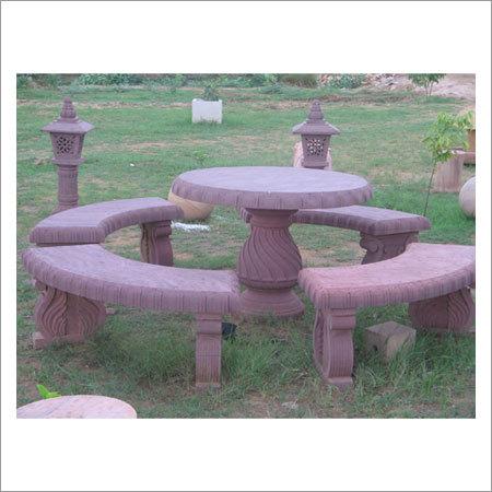 Garden Round Bench