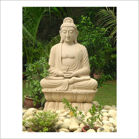 Carved Sitting Buddha