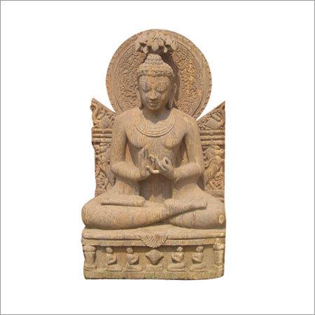 Fine carved Buddha