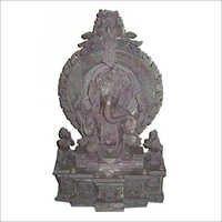 Fine Carved Ganesha Statue