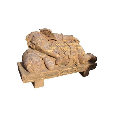 Sleeping Ganesha Statue