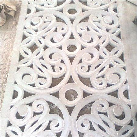 White Marble Jali