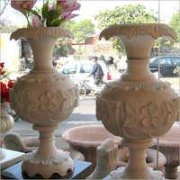 Meenakari Marble Pot
