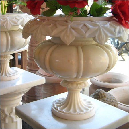 Indian Marble Pots