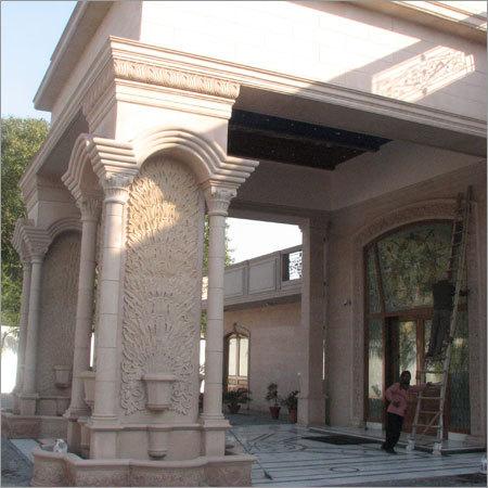 Decorative Building Pillars