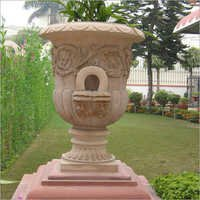 Stone carved Planters