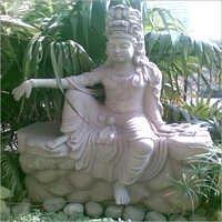 Vishnu Sitting Statue