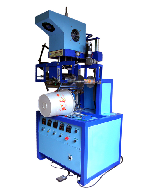 Semi Automatic Hot Foil Transfer Stamping Machine