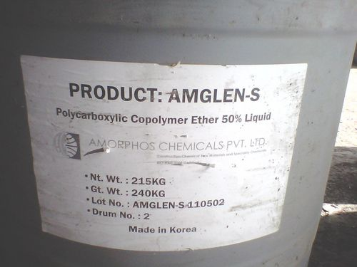 Amglen - S Polycarboxylic Liquid 50% Solid