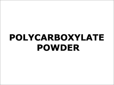 Polycarboxylate Powder