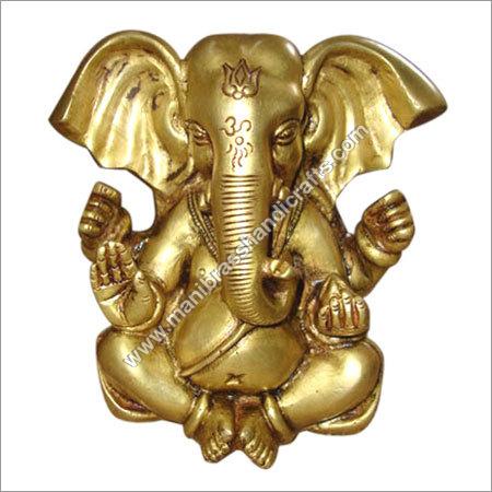Appu Ganesh 4 arm Brass Statue