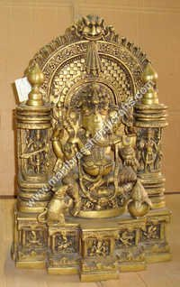 Ganesh Darbar With Lotus