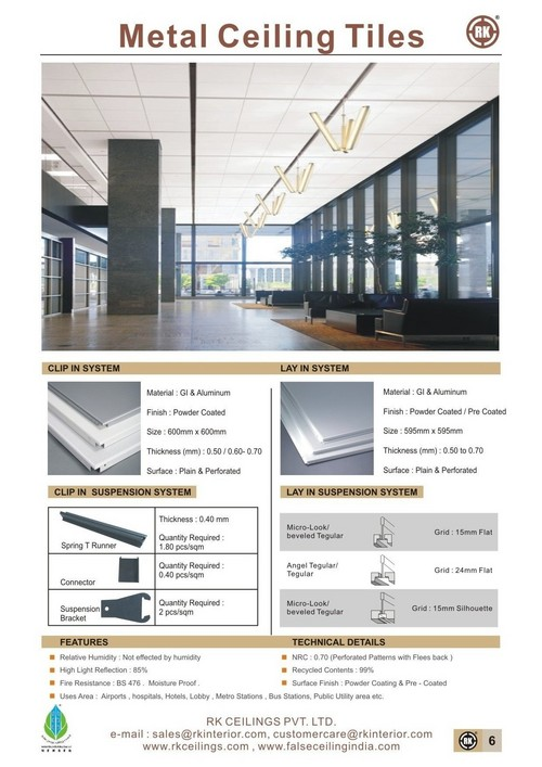 False Ceiling Accessories