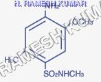 Para Cresidine 4-N.Methyl Sulphonilide