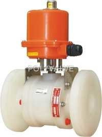 Pvdf electric Actuated Ball Valve