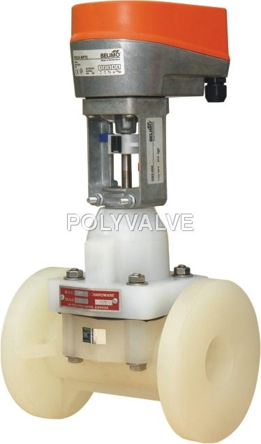 Electrical Actuated Diaphragm Valve