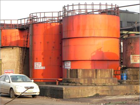 DM Storage Tank Inside Epoxy Coating