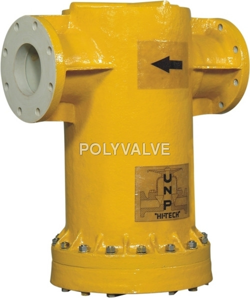 Fluoropolymer Lined Valves