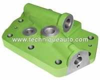 CONTROL VALVE HEAD PLATE WITH SPEED CONTROL PISTON
