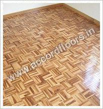 Parquet Teak Tiles