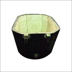 Alumina Ceramic Lined Steel Plant Sinter Pot