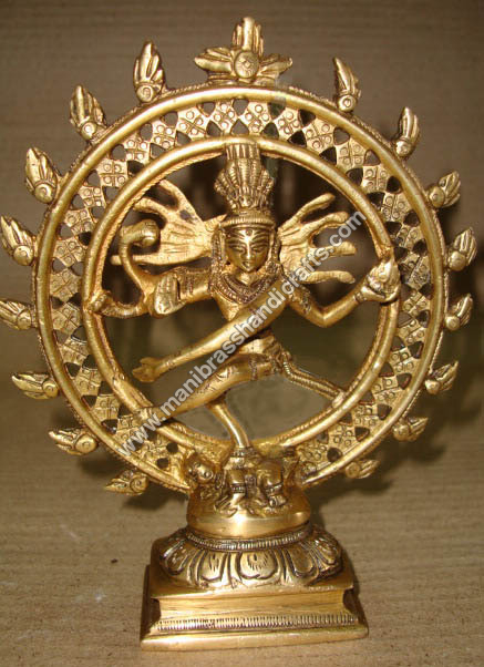 Nataraj Dancing Double Ring