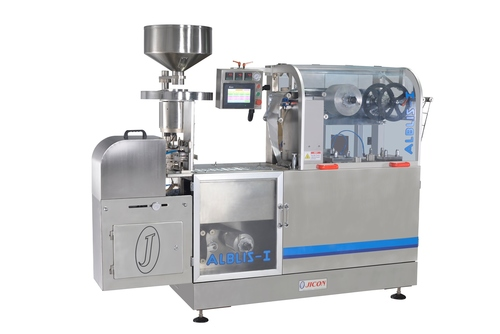 Automatic Flat Plate Blister Packing Machine Capacity: 60-200 Packs/Min T/Hr