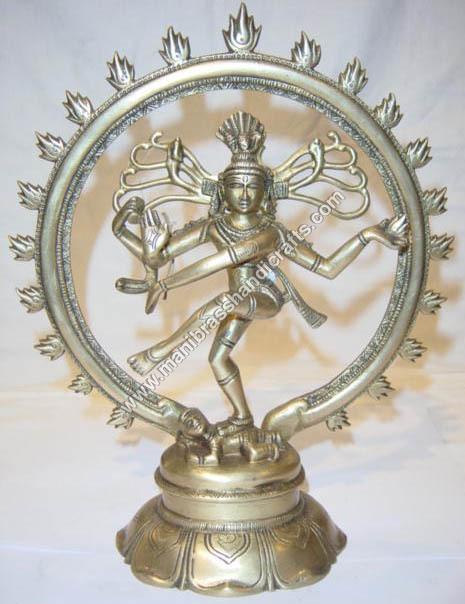Nataraj Dancing Round Base