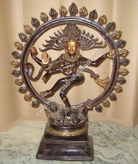 Lord Nataraja Brass Statue