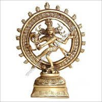 Shiva Nataraj Double Ring Statue
