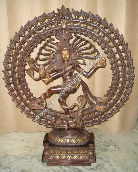 Nataraja Dancing Statue (TRIPLE RING)