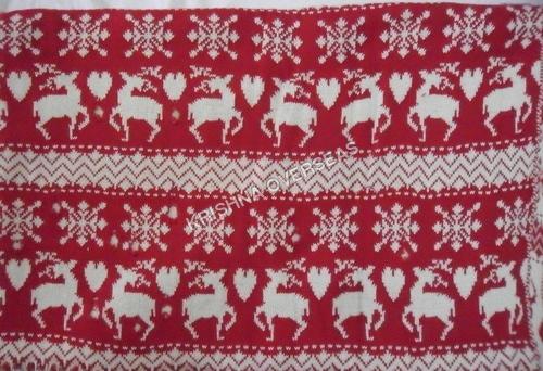 Flat Knit Jacquard Fabric