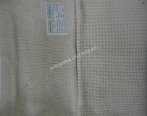Flat Knit Plain Fabric